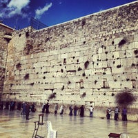 Photo taken at The Western Wall (Kotel) by Lidia S. on 3/10/2013