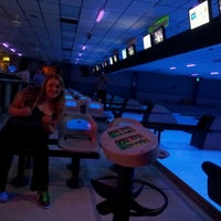 Photo taken at Pla-Mor Lanes by Katie J. on 10/13/2012
