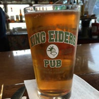 Photo taken at King Eider's Pub and Restaurant by christine c. on 8/1/2016
