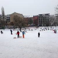 Das Foto wurde bei Volkspark am Weinberg von Mathis M. am 1/27/2013 aufgenommen