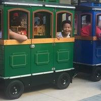 Photo taken at Hound Dog Express - Kids Train Ride by MiVida R. on 10/8/2016