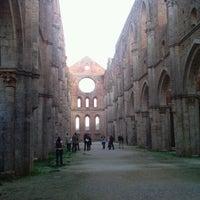 Foto scattata a Abbazia Di San Galgano da Manuz il 10/4/2012