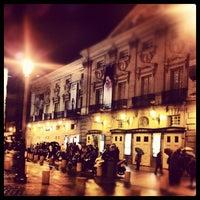 Photo taken at Teatro Español by Valentí P. on 11/9/2012
