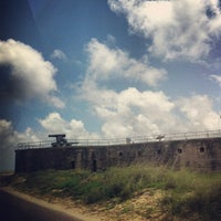 Photo taken at Fort Gaines by Sharon S. on 5/29/2013