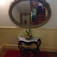 Photo taken at Grande Hotel de Paris by Marta on 5/31/2015
