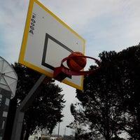 Photo taken at Parc Des Sports Et De L'amitié by Laurent B. on 2/25/2014
