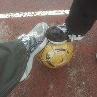 Photo taken at Parc Des Sports Et De L'amitié by Laurent B. on 10/21/2012