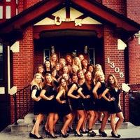 Photo taken at Kappa Kappa Gamma by Morgan D. on 7/11/2013