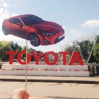 Photo taken at Toyota настроение by Christina W. on 7/19/2014