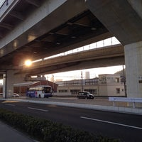 Photo taken at 平成鶴江橋 by なかさん さ. on 1/1/2014