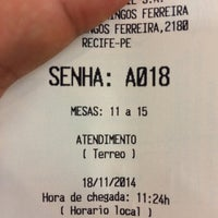 Photo taken at Banco do Brasil by Ardili N. on 11/18/2014