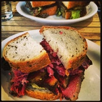 Photo taken at Mile End Delicatessen by Jo R. on 12/22/2012