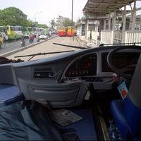 Photo taken at Terminal Bus Tanjung Priok by Muhammad R. on 7/23/2014