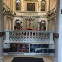 Снимок сделан в Touro Synagogue пользователем Joe N. 9/3/2017