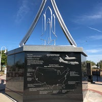 Photo taken at Space View Park by Theo H. on 3/7/2018
