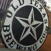 Photo taken at Old Texas Brewing Co. by Martha on 7/25/2013