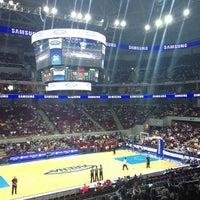 Photo taken at Mall of Asia Arena by Gordon C. on 7/21/2013