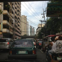 Photo taken at Taft & Padre Faura Intersection by Gordon C. on 6/17/2013