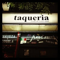 Photo taken at Taqueria Lower East Side by Auds B. on 9/20/2012
