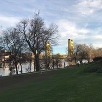 Photo taken at River Walk Park by Vicky T. on 3/12/2017