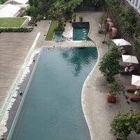 Photo taken at Padma Hotel Bandung by Maya L. on 1/12/2013