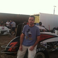Photo taken at Canyon Speedway by Bruce S. on 10/28/2012