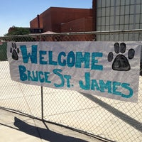 Photo taken at Mohave Middle School by Bruce S. on 4/2/2013