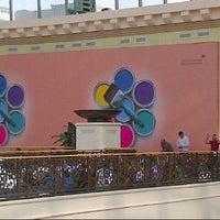 Photo taken at Mall of the Emirates Mosque مسجد مول الإمارات by Monaem B. on 1/4/2013