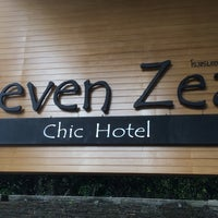 Photo taken at Seven Zea Chic Hotel by Devil K .. on 7/16/2016