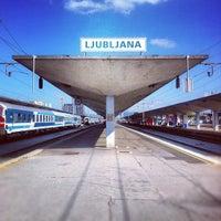 Photo taken at Železniška postaja Ljubljana / Train Station by geheimtip ʞ. on 10/3/2012