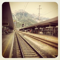 Photo taken at Innsbruck Hauptbahnhof by geheimtip ʞ. on 9/26/2012
