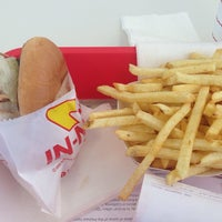 Photo taken at In-N-Out Burger by Nicole on 10/18/2013