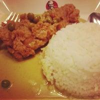Photo taken at KFC BTS Sala Daeng by Miggy T. on 12/9/2012