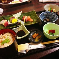 Photo taken at 和食 石かわ by 佐々木 A. on 3/17/2013