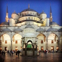Photo taken at Blue Mosque by Bared K. on 5/20/2013