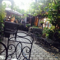 Photo taken at The Café by Markhouse by CK P. on 4/25/2015