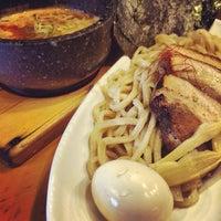 Photo taken at つけ麺 まぜ郎 ぎんや 砂田橋店 by hidetatatatata on 3/7/2014