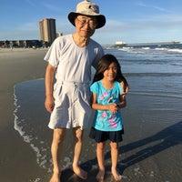 Photo taken at Shore Drive Beach by Jason L. on 6/13/2016