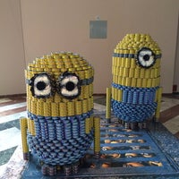 Photo taken at American Express Canstruction Room by Diana C. on 11/9/2013