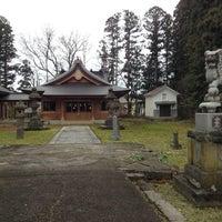 Photo taken at 会津坂下町 by Kudo A. on 11/27/2016