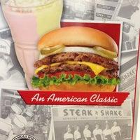 Photo taken at Steak 'n Shake by Chris W. on 2/13/2013