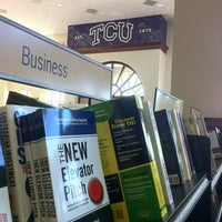 Photo taken at TCU Bookstore by Chris W. on 10/19/2012