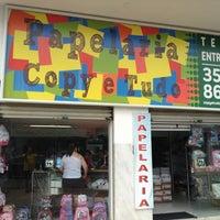 Photo taken at Copy & Tudo Papelaria by Marcelo R. on 1/16/2013
