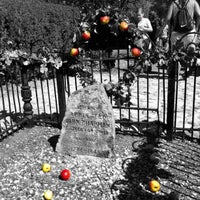 Photo taken at Johnny Appleseed's Gravesite by Rob B. on 9/15/2012