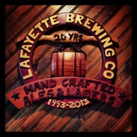 Photo taken at Lafayette Brewing Company by Rob B. on 6/1/2013