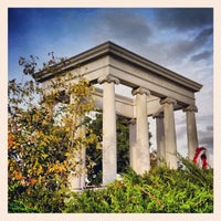 Photo taken at James Whitcomb Riley's Grave Site. by Rob B. on 10/6/2012