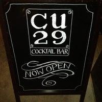 Foto scattata a CU29 Cocktail Bar da Jackson E. il 6/12/2013