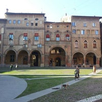 Photo taken at Piazza Santo Stefano by Gabriele D. on 11/16/2012