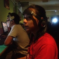 Photo taken at NBK Cyber Cafe by Sabrina N. on 4/2/2012