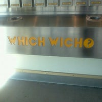 Photo taken at Which Wich? Superior Sandwiches by Hava Johnston R. on 10/25/2011